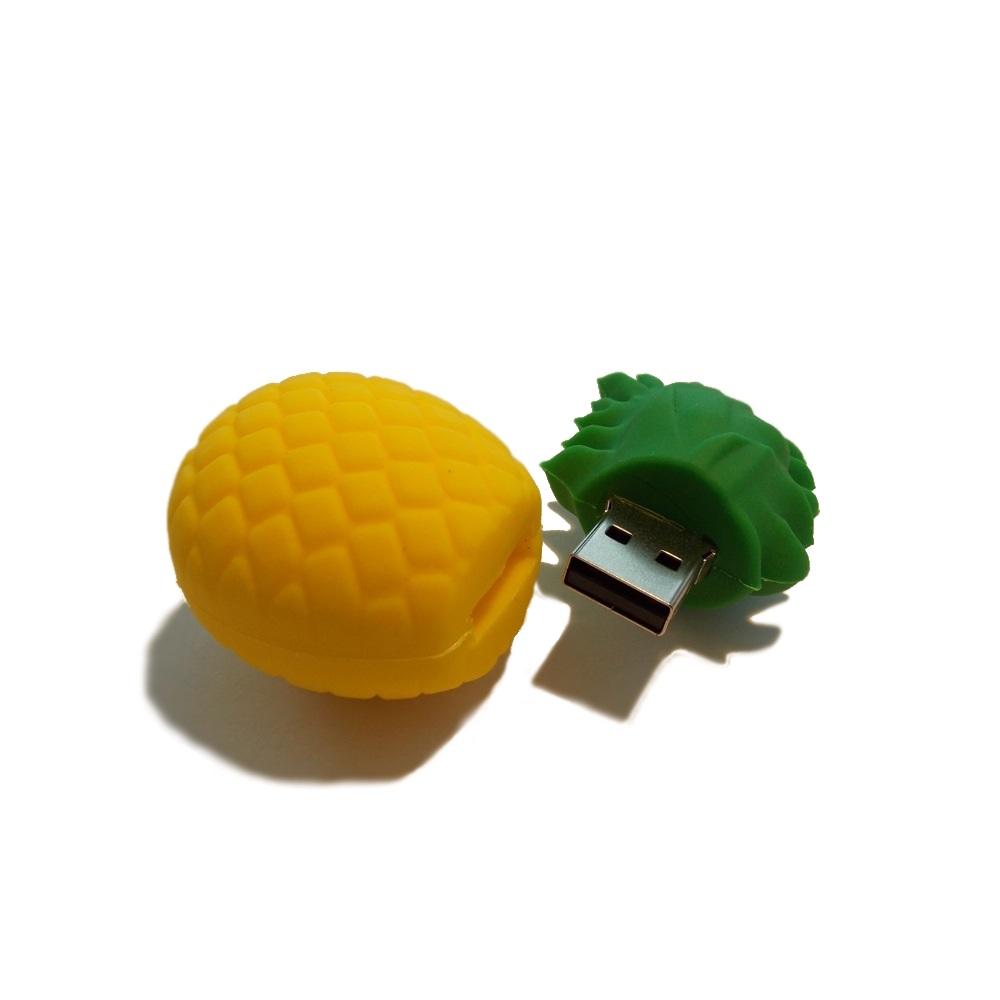 cl usb ananas funnyusbsticks witzige lustige usb sticks und geschenke. Black Bedroom Furniture Sets. Home Design Ideas