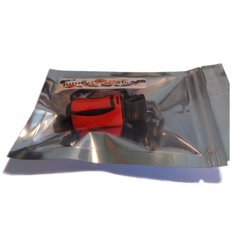 cl usb sac de golf rouge funnyusbsticks witzige lustige usb sticks und geschenke. Black Bedroom Furniture Sets. Home Design Ideas