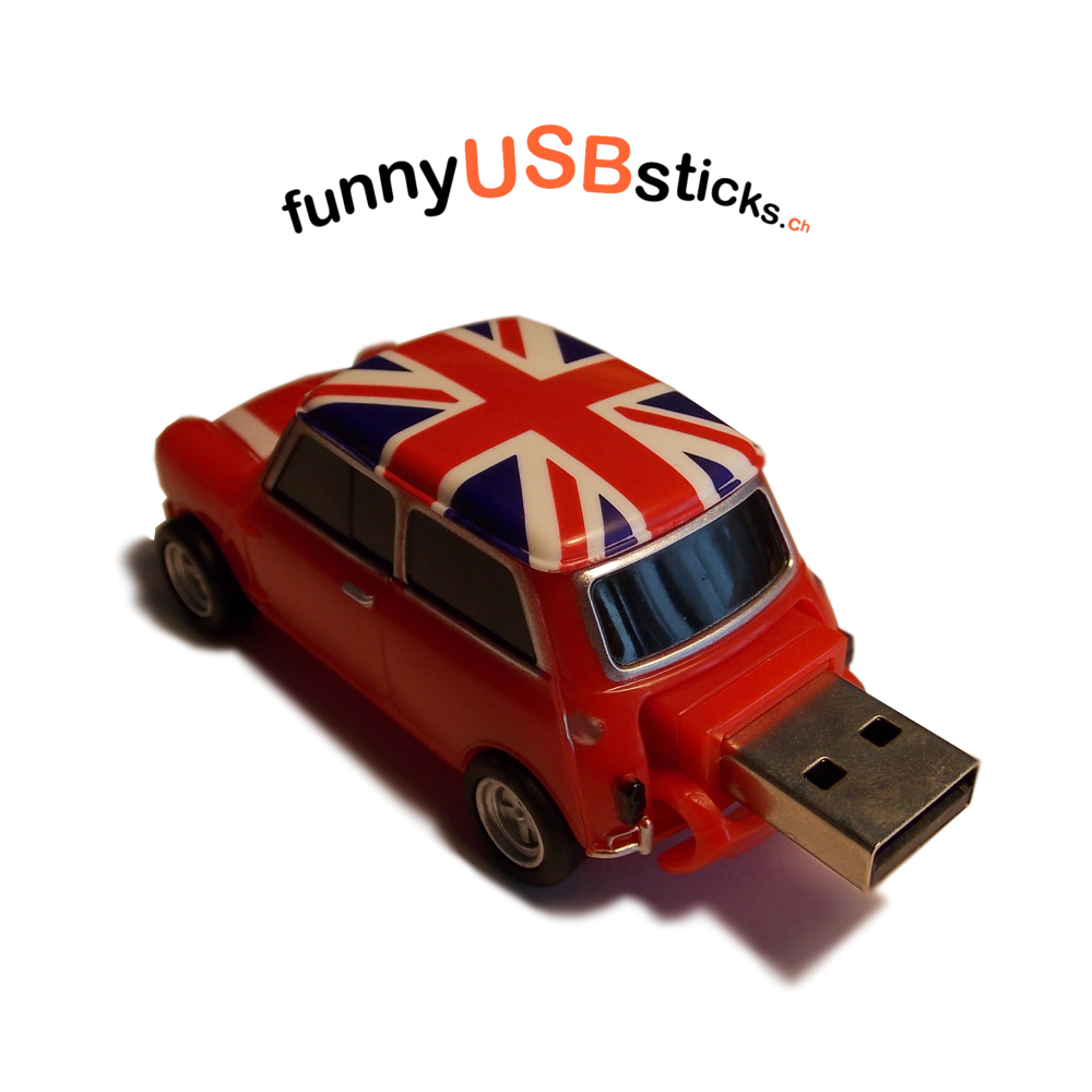mini auto usb stick 8gb funnyusbsticks witzige lustige. Black Bedroom Furniture Sets. Home Design Ideas