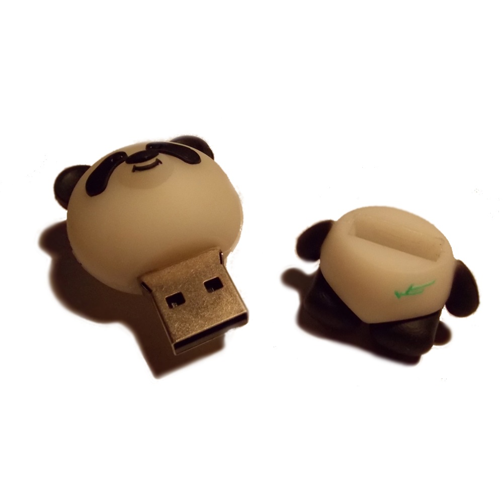 panda usb stick funnyusbsticks witzige lustige usb. Black Bedroom Furniture Sets. Home Design Ideas